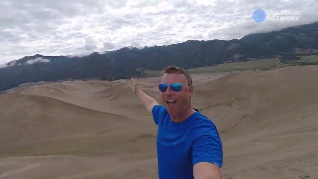Colorado Adventures: Climbing the Sand Dunes