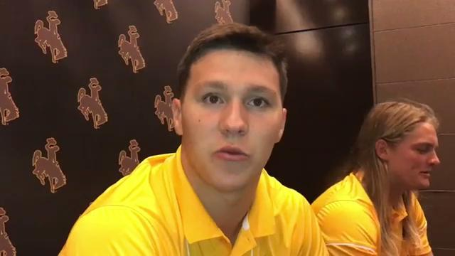 Wyoming QB Josh Allen can't hide from hype