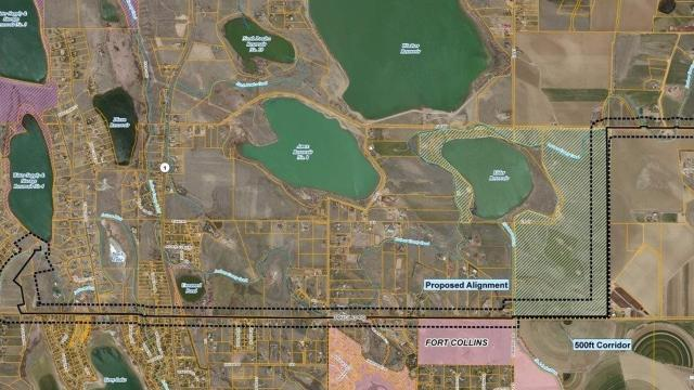 Thornton picks path for controversial pipeline