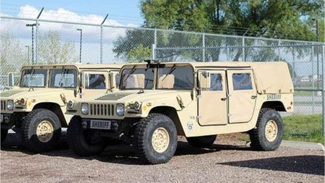 Fort Collins area law enforcement get military surplus equipment