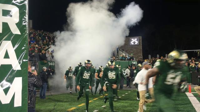 CSU football takes field in Homecoming night game