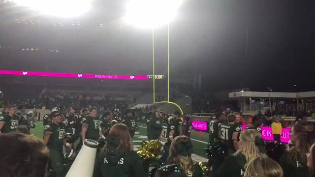 CSU football celebrates close Homecoming win vs. Nevada