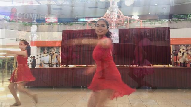DanzJazz performance at the Micronesia Mall