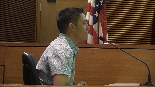 Witness Ray Chaco testifies in sexual assault trial
