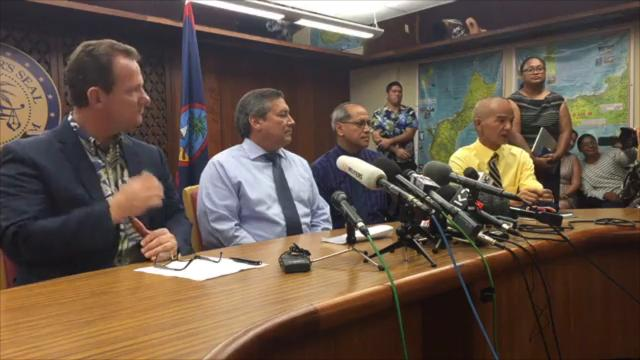Guam homeland administrator: Low chances of being hit