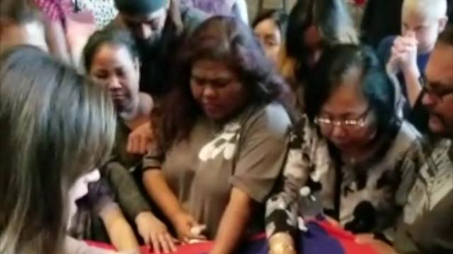 Prayers sent to Guam from Washington state