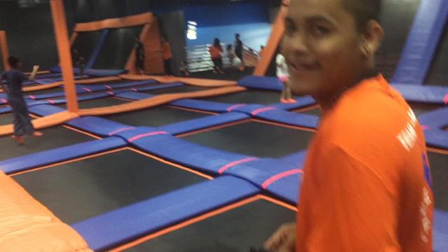 The indoor trampoline park opened at the Agana Shopping Center to the delight of social media followers who got first dibs Aug. 15, 2017.