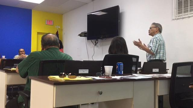 Dr. Vincent A. Duenas speaks to mayors