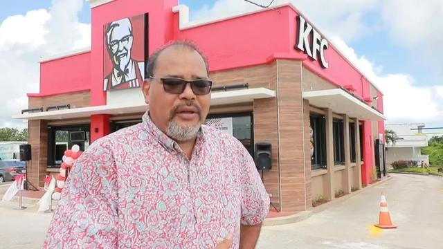 Mangilao KFC Reopens after Renovation