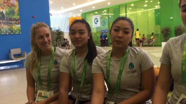 Guam Women's 3x3 Basketball Team in Turkmenistan