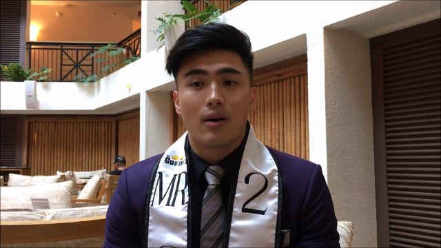 Sam Hashimoto took on the challenge of confronting his personal insecurities by entering the Mr. Guam pageant. His hard work and positive attitude earned him the title of Mr. Guam 2017.