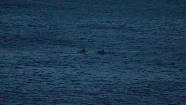 Rescue of distressed surfers in Umatac