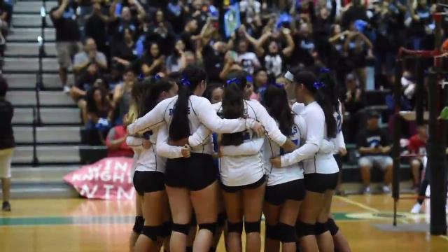 Notre Dame Lady Royals claim volleyball title