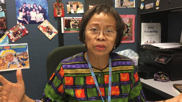 Rose Zabala, health services administrator for the Guam Department of Public Health and Social Services' Bureau of Community Health Services, says the community can help Public Health by becoming more involved in healthy activities.