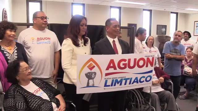 Aguon Limtiaco campaign launch