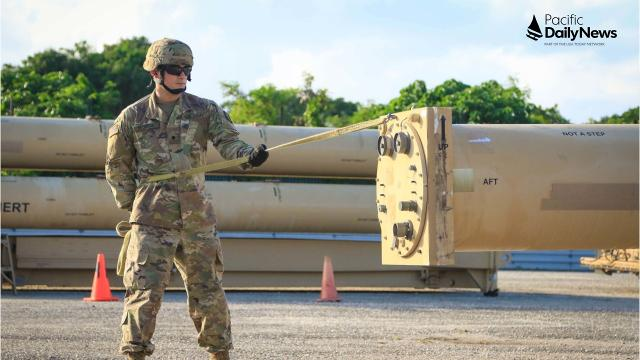 Guam's missile defense sytem