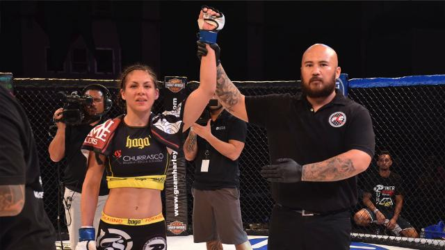 Newly signed Invicta FC fighter Brogan Walker-Sanchez sits down to talk with Pacific Daily News on Dec. 9, 2017.