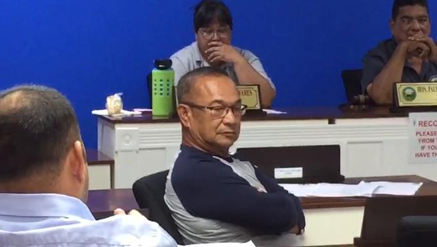 Tempers flared at the Mayors' Council meeting after Guam Department of Education told mayors to do a better job cutting grass at public schools.