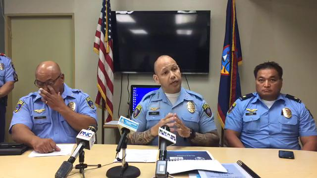 Guam Police Department Chief Joseph Cruz said community policing is helping the island's crime rate go down.
