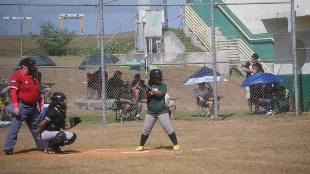 Highlights from the IIAAG Girls Softball opening game between the Tiyan Lady Titans and the JFK Islanders.