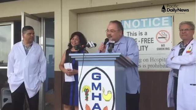 Guam Memorial Hospital is at risk of losing Joint Commission accreditation, hospital Administrator PeterJohn Camacho warned at a press conference on Jan. 22, 2018.