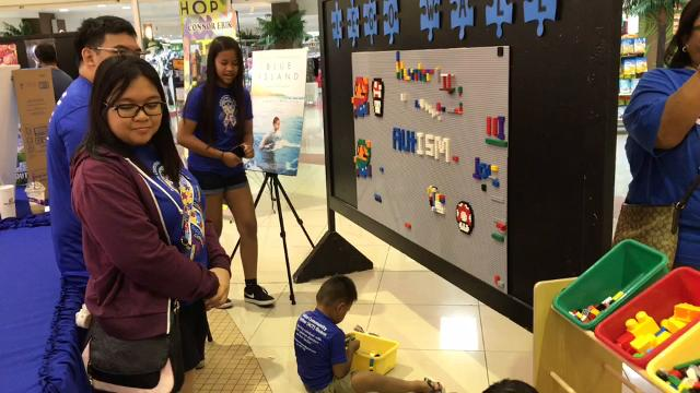 Parentspacked the Agana Shopping Center to watch their children perform and to learn about different servicesduring the 11th Annual Autism Awareness Fair