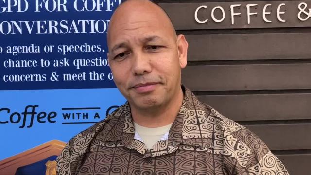 Guam Police Department Chief Joseph I. Cruz explains how his department classifies Compact migrants in their police reports.