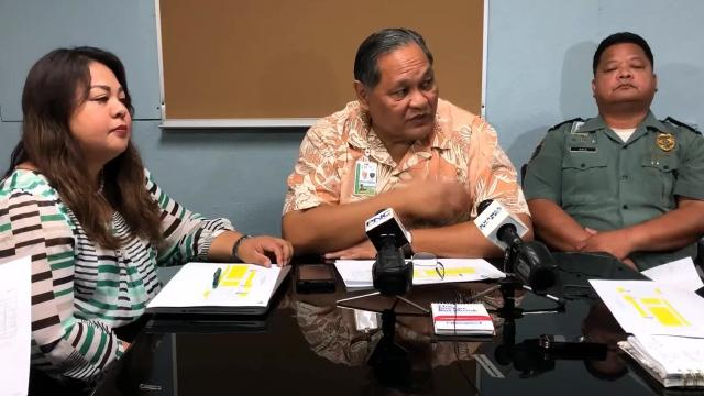Guam Department of Corrections needs 303 corrections officers and at this time only 199 are staffed.