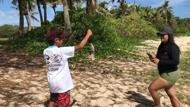The Department of Agriculture's Division of Aquatic and Wildlife Resources, in conjunction with the U.S. National Park Service, held thefirst of two scheduled fishing derbies at the War in the Pacific National Historic Park's Asan Beach Unit June 16