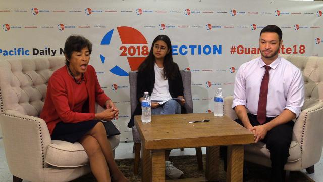Delegate candidates differ on political status issue