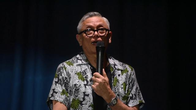 A HITA Talk is held to celebrate the life and music of local jazz artist Patrick Palomo at the Guam Museum on Feb. 16, 2019.