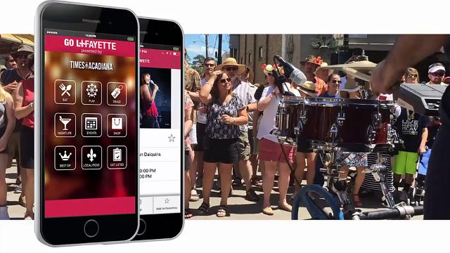 Download the Go Lafayette app today!