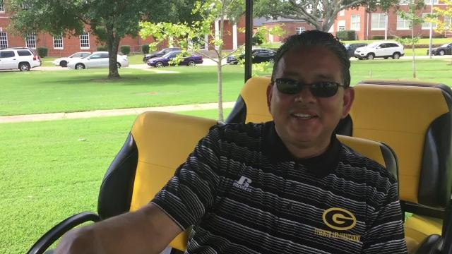 Check out GSU President Rick Gallot's new set of wheels