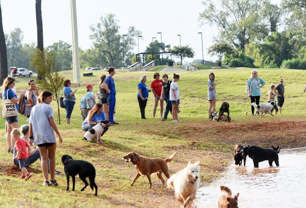 Shreveport Dog Park opens