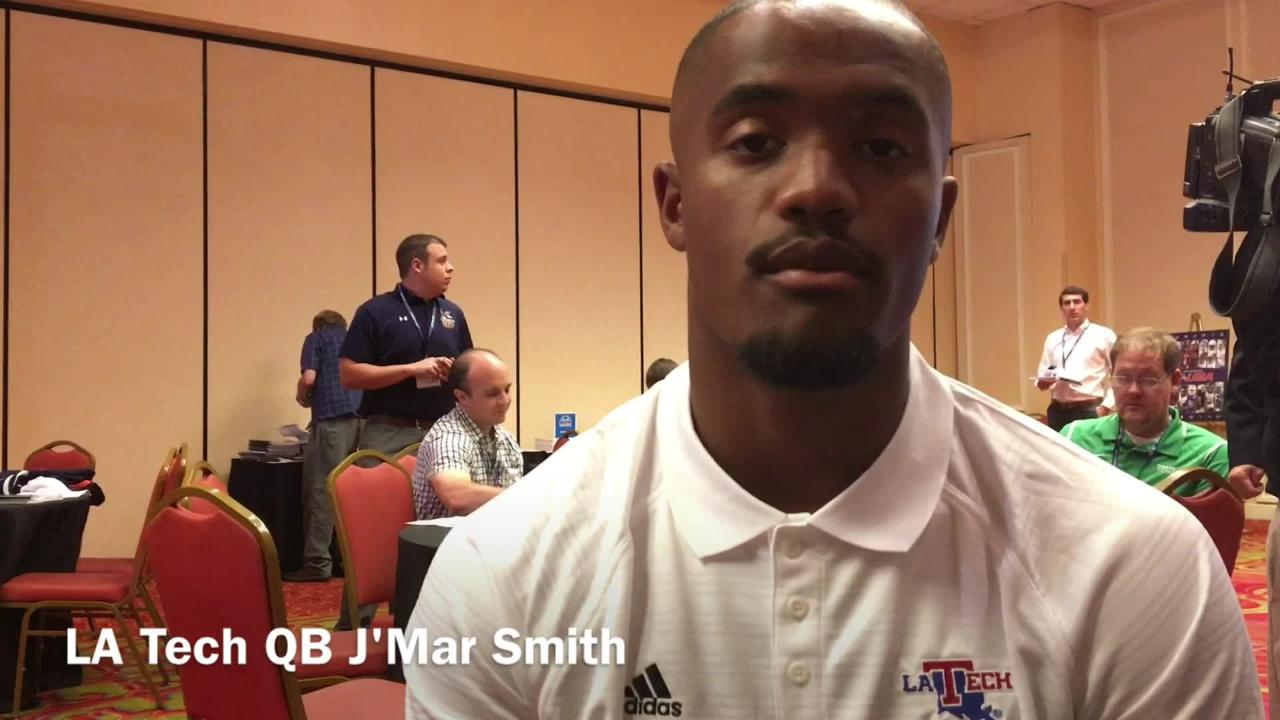 Smith explains why he's ready to start at QB for Tech