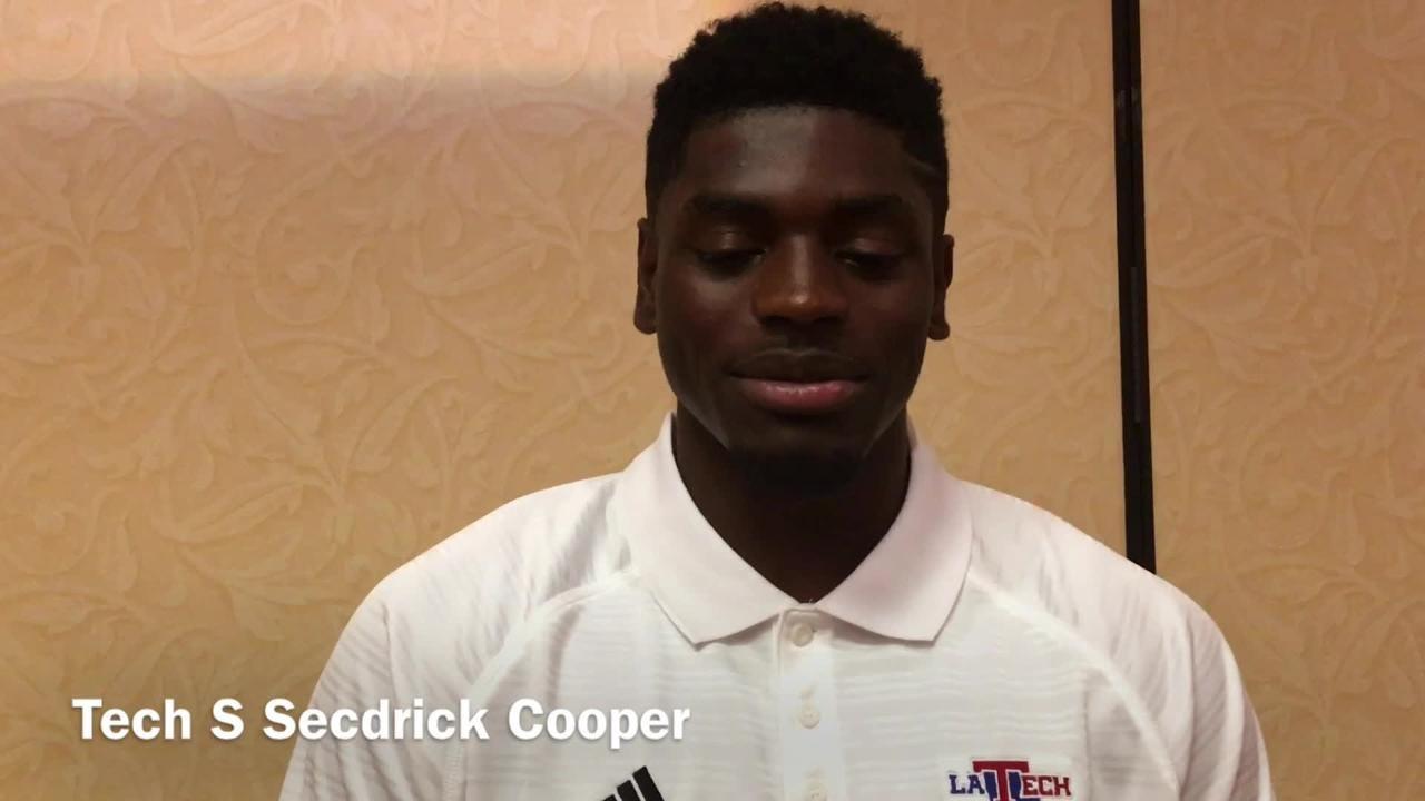 LA Tech S Cooper on starting last season