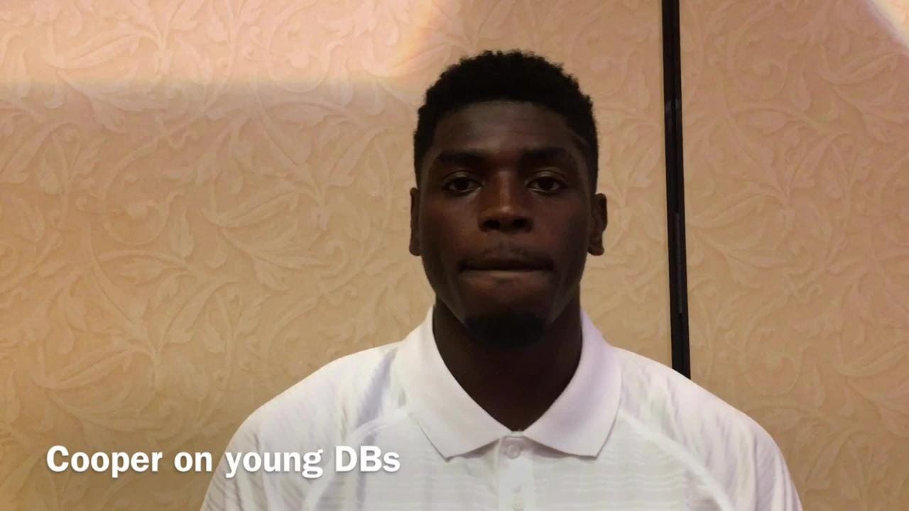 Cooper on young DBs that's impressed him