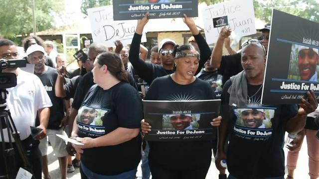 Rally for DeJuan Guillory held Friday in Ville Platte