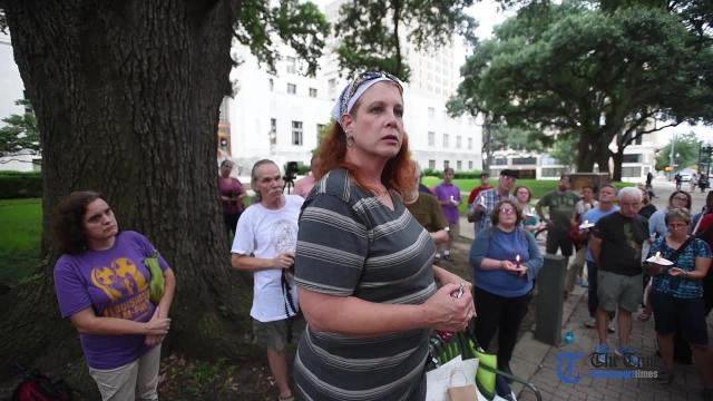 McDaniel's speech at vigil