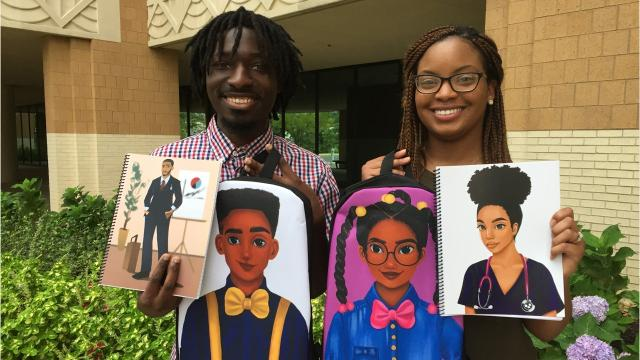 Terrence and Constance Price created Moe Melanin LLC to provide positive images of black men and women for young African-American children.