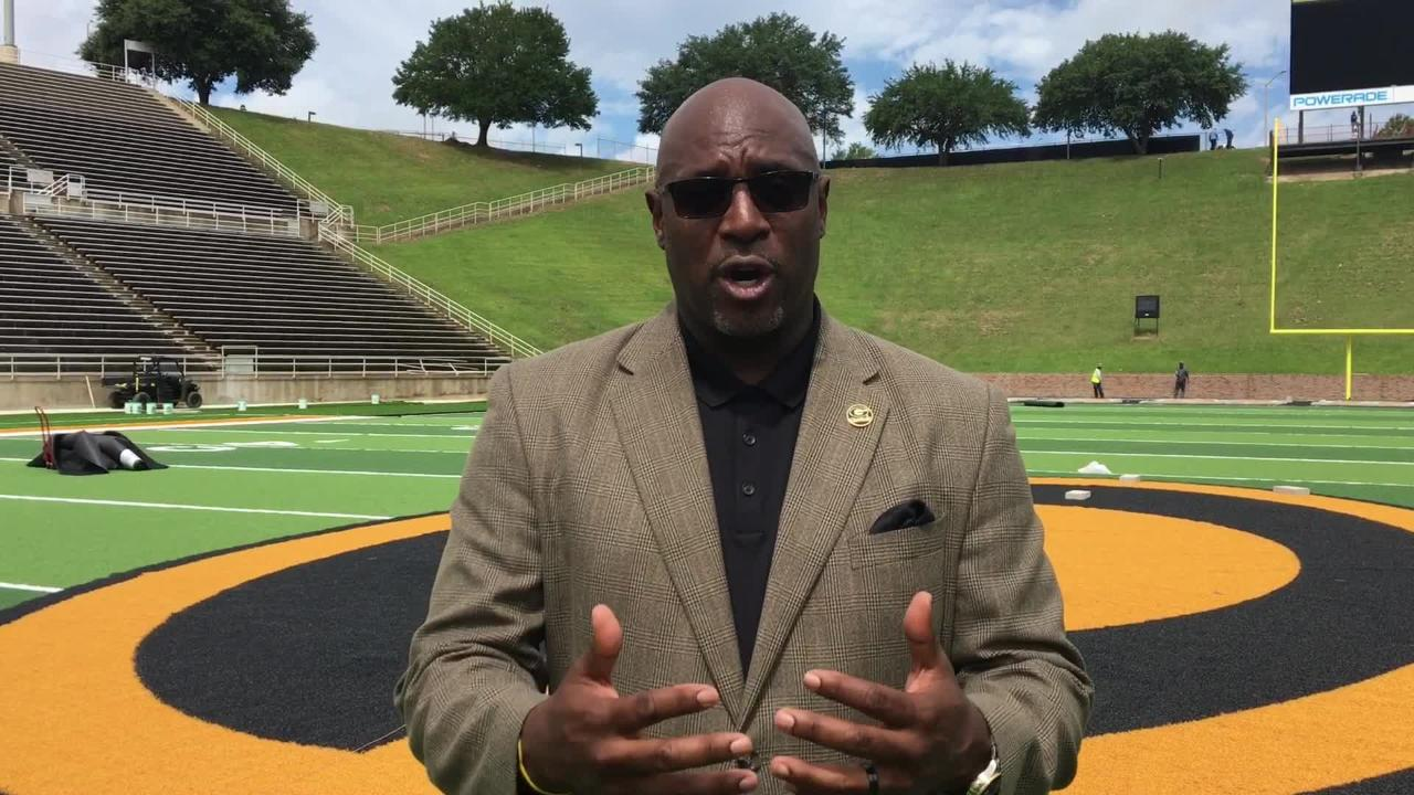 Paul Bryant shares excitement on upgrades, enhanced gameday experience