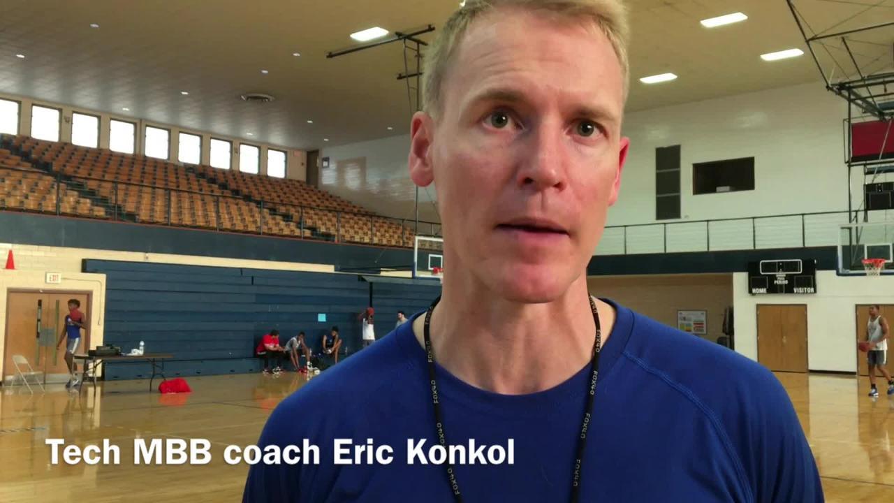 Tech MBB head coach Eric Konkol talks about his guards