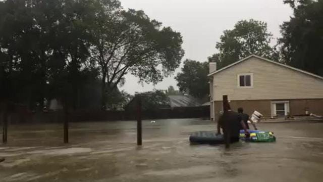 Rescues in Houston