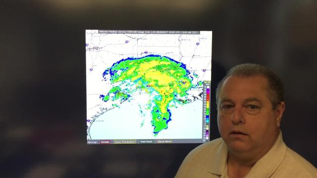 WATCH: Today's Harvey forecast for Louisiana