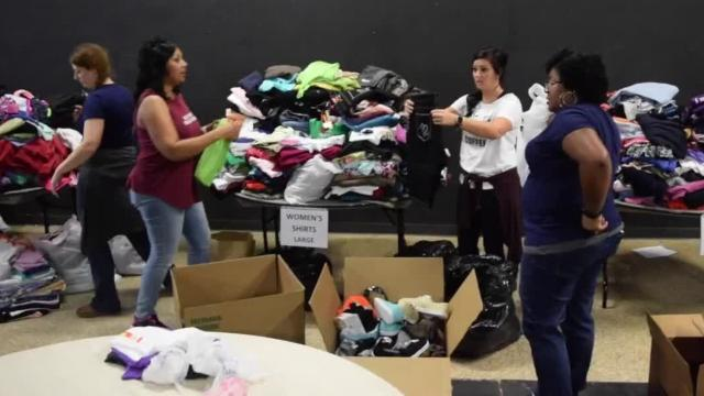 David Britt, president of the United Way of Central Louisiana, says donations will be accepted Friday, Saturday and from 10 a.m. to 4 p.m. Sunday at the Kress Theatre located on the corner of Third and Johnston Streets.