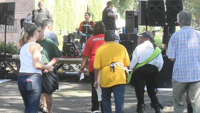 Annual zydeco breakfast held Saturday in downtown Opelousas.