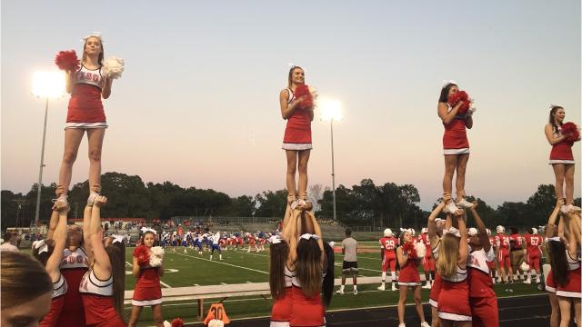 Indians brought their school spirit to the Tioga High School football game Friday night.