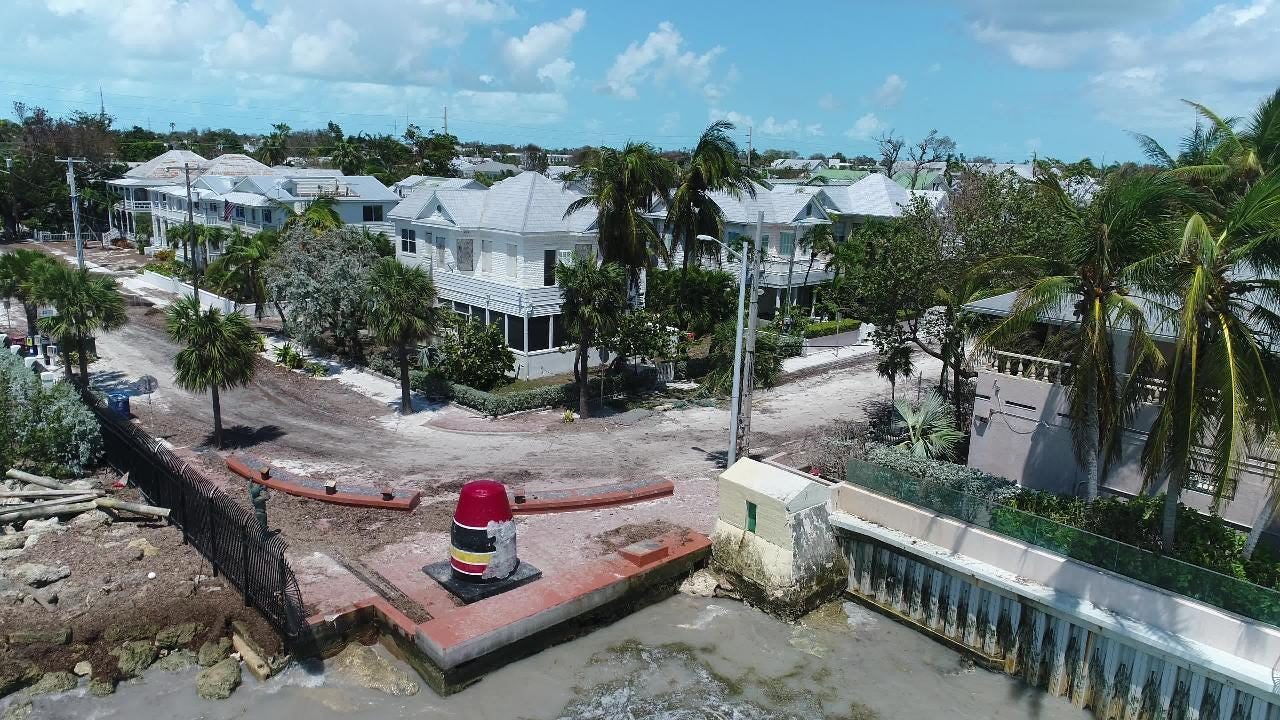 Watch it: Raw video of the Southernmost point marker