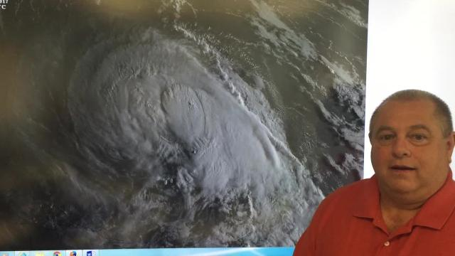 Meteorologist Don Wheeler, a USA Today Network correspondent, discusses the potential path of Tropical Storm Jose and discusses historical hurricane patterns.