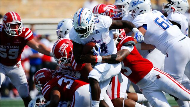 UL, which faces Texas A&M next, gave up 667 yards and 66 points at Tulsa.